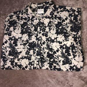 Guess Floral Button Up Shirt